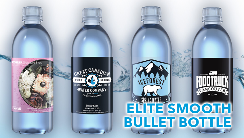 Personalized Water Bottle Labels Made in BC | Great Canadian Water